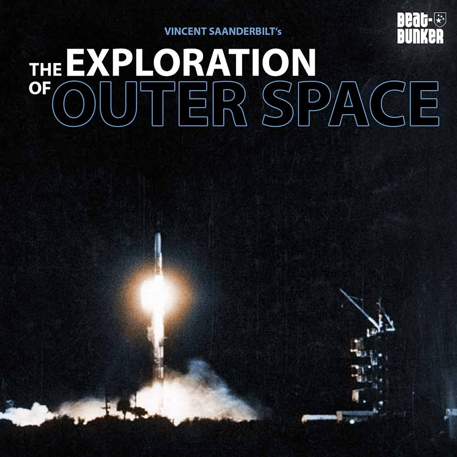 Cover: Vincent Saanderbilt - The Exploration Of Outer Space